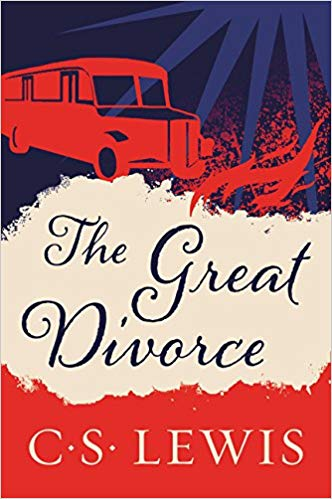 The Great Divorce: CS Lewis - The writer finds himself in Hell boarding a bus bound for heaven. The amazing opportunity is that anyone who wants to stay in heaven, can. This is the starting point for an extraordinary meditation upon good and evil, grace and judgment. Lewis's revolutionary idea is the discovery that the gates of Hell are locked form the inside.