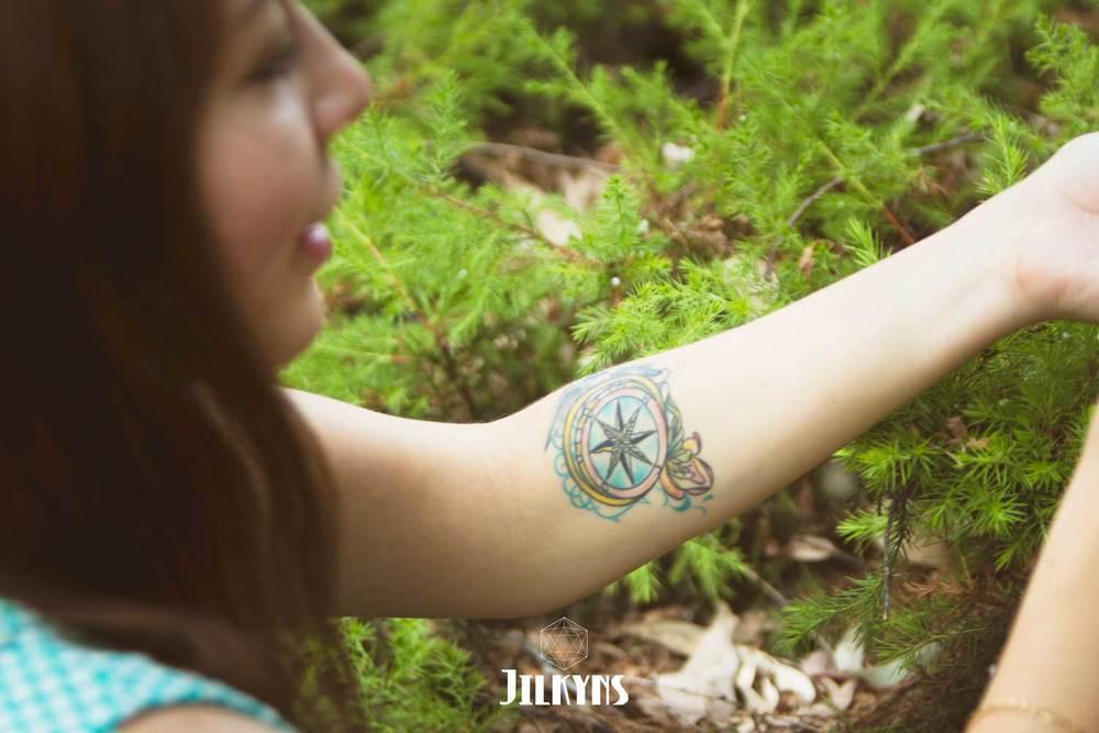 compass tattoo photo by Jilkyns