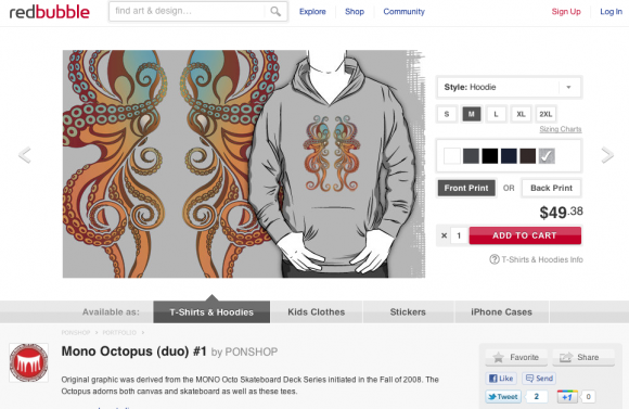 Octopus Graphic by PONSHOP