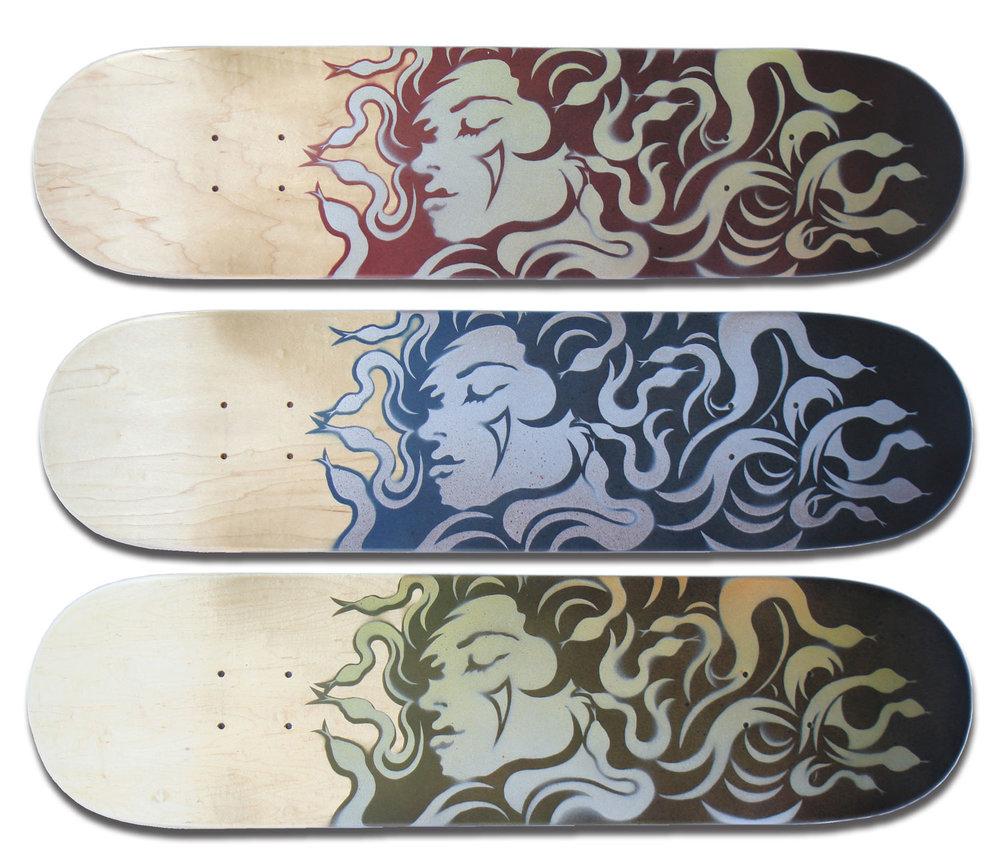 """MONO Medusa"" Skateboard Deck Series"