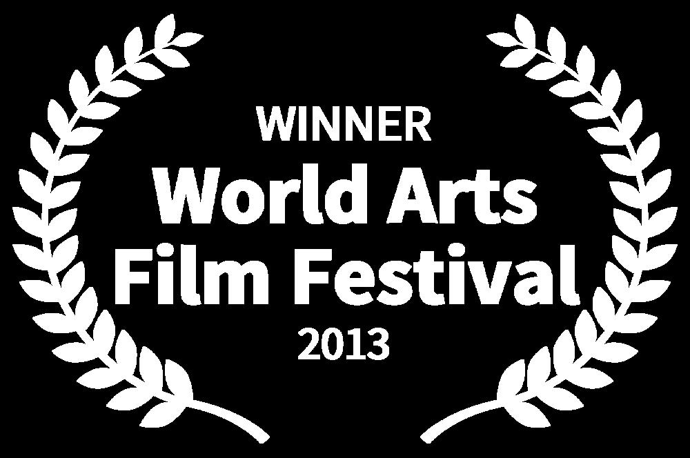 WINNER - World Arts Film Festival - 2013.png
