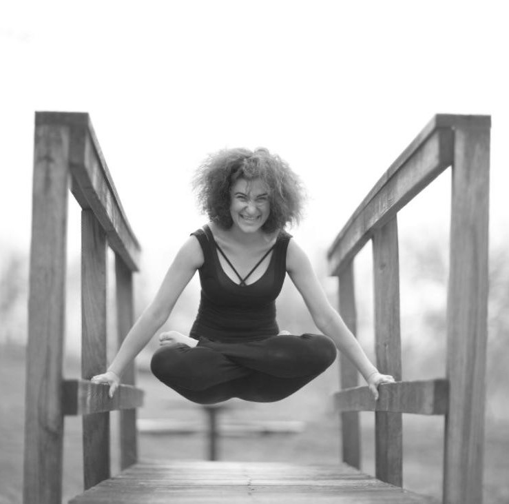 Recovering Yoga owner Rachel Bertner. Strong. Happy. Healthy. Yoga for recovery. From Addiction, eating disorders, and trauma.