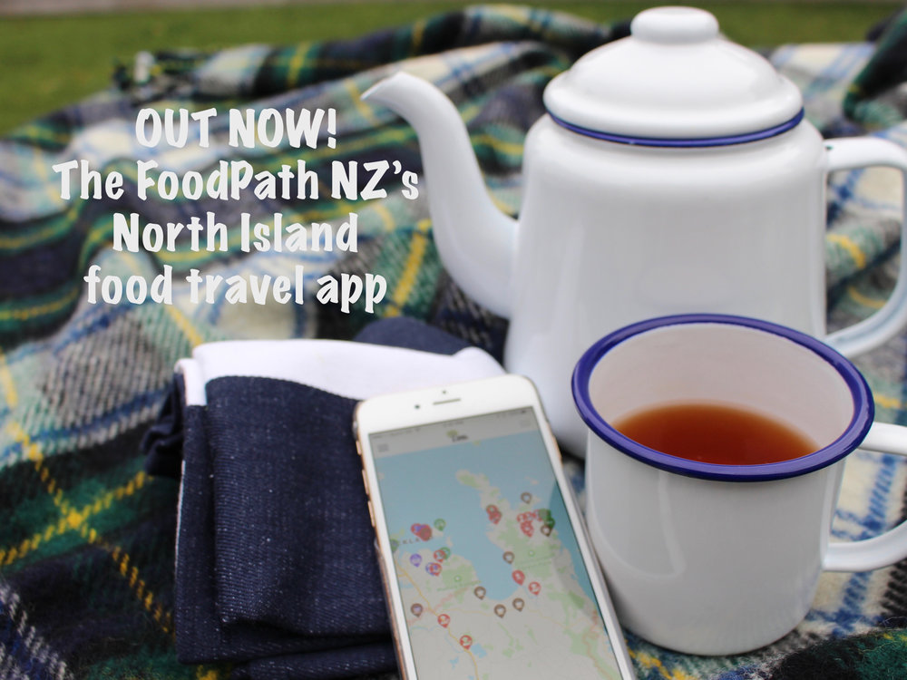 The FoodPath NZ North Island Food Travel Guide app