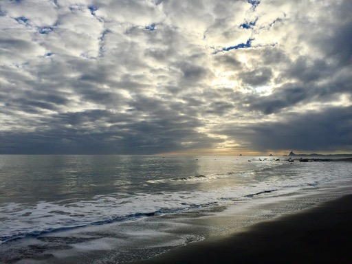 Taranaki coastline