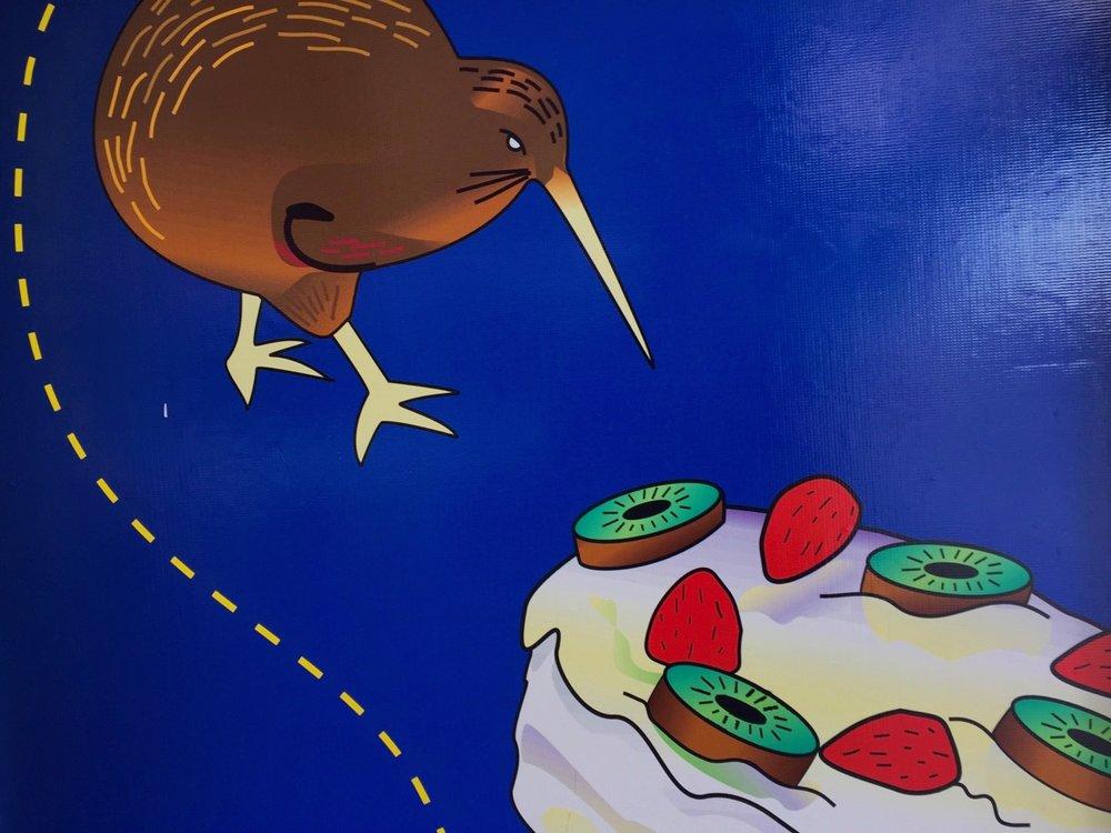 kiwi and pavlova