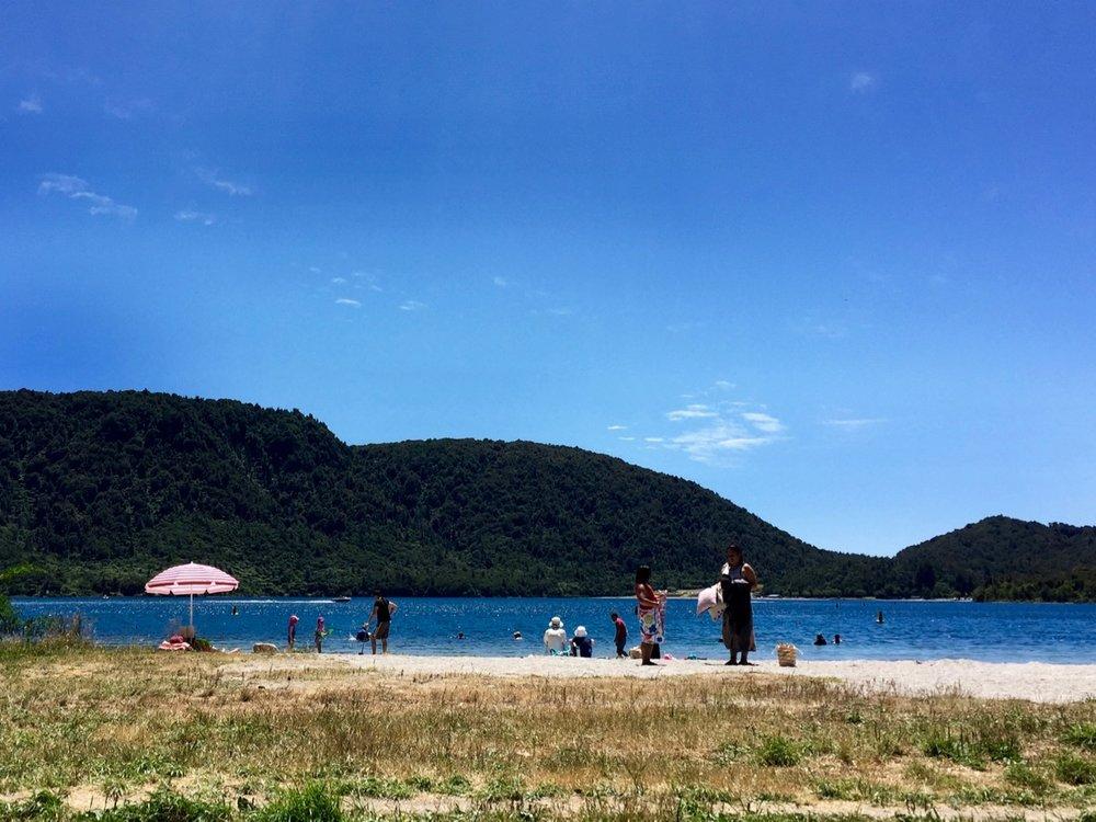 Blue Lake, Lake Tikitapu, Rotorua