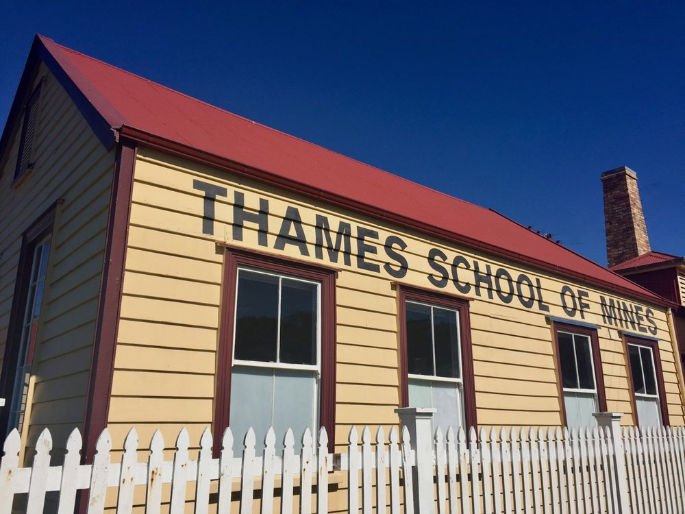 Thames School of Mines, food trail