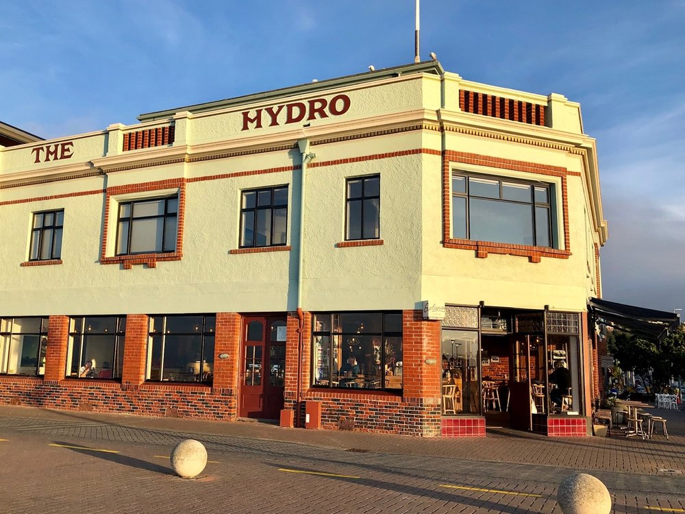 Hydro building, St Clair, Dunedin