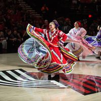Latino Network night with the Portland Trail Blazers