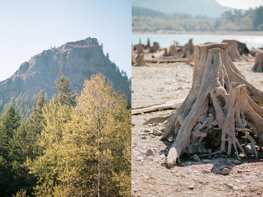 Rattlesnake Lake Details by Alexandra Knight Photography
