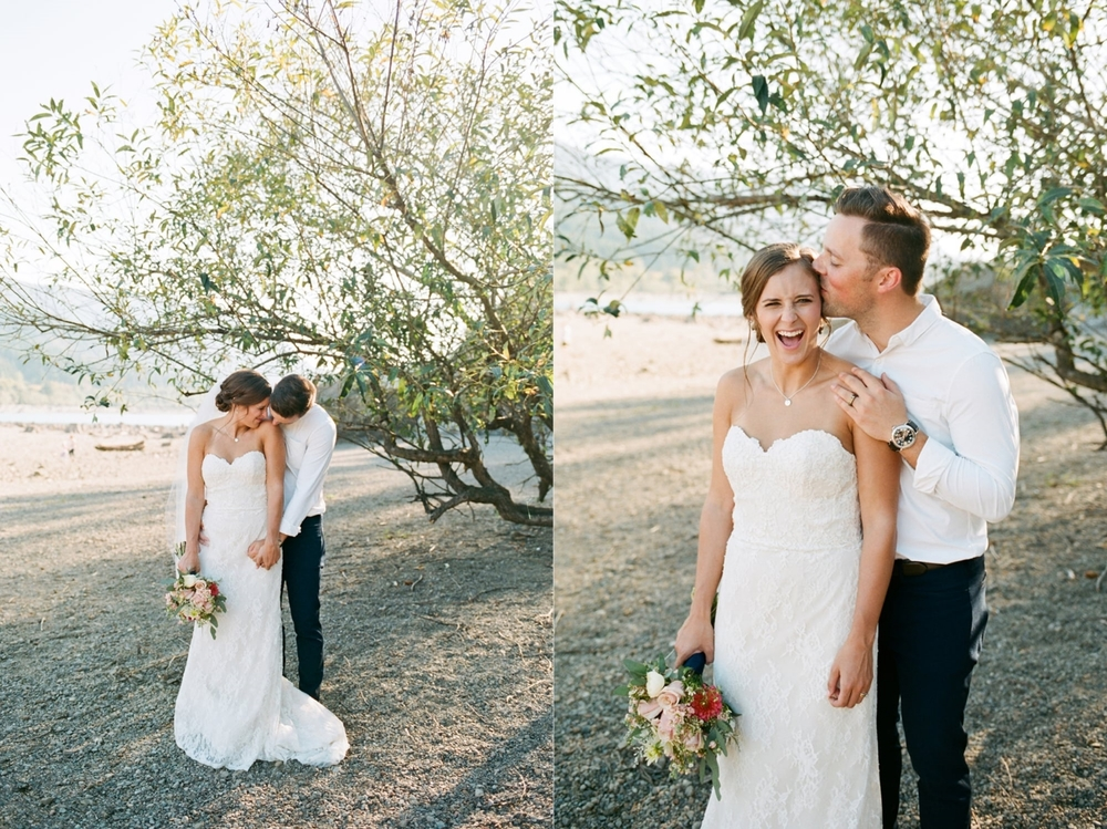 Rattlesnake Lake Wedding Photography by Alexandra Knight Photography