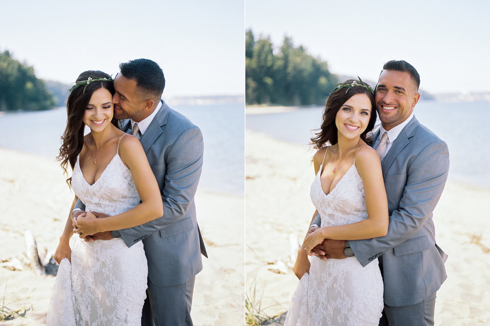 Polynesian Inspired Port Townsend Wedding Photography