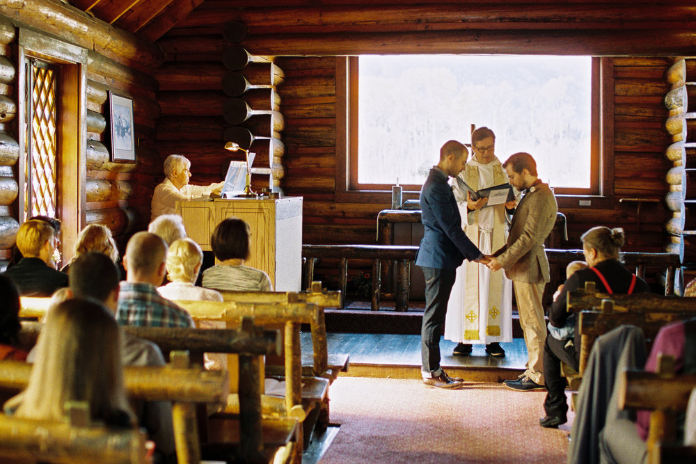 Chapel of the Transfiguration Wedding