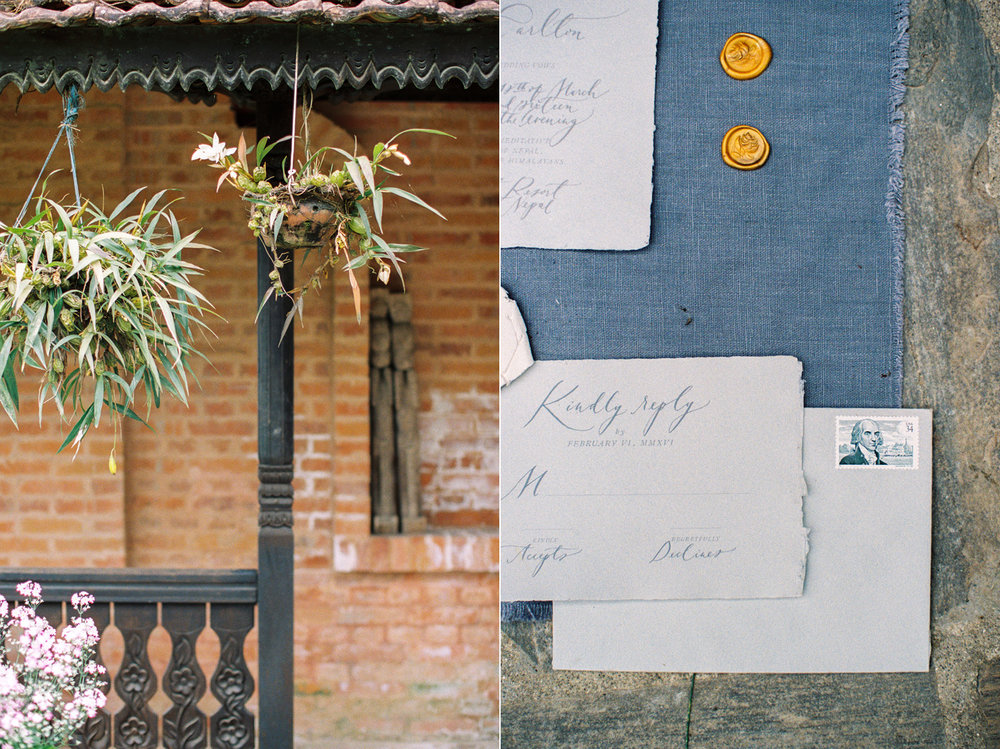 Nepal Wedding Photography with Shop Gossamer, Nina & Wes Photography & Jaclyn Journey Florals