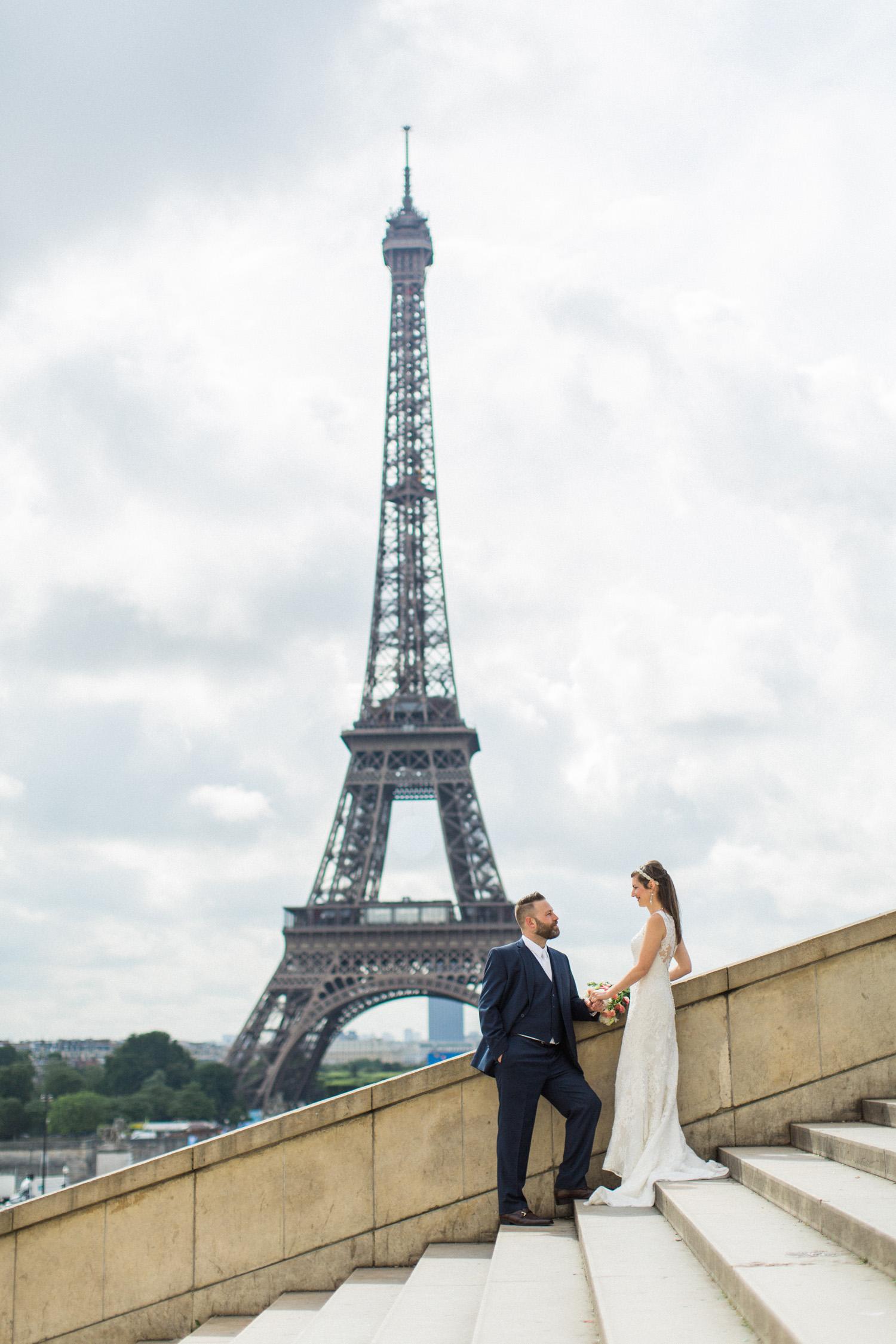 Adventurous Paris Elopement | Seattle and Destination