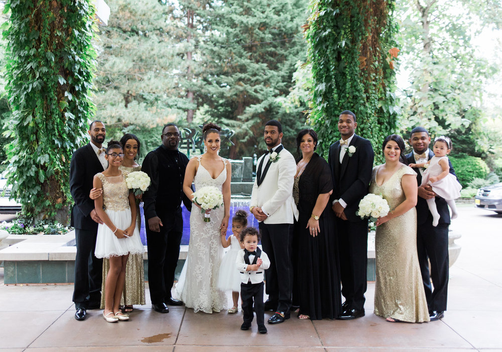 seattle wedding photography family portrait black and gold wedding.jpg