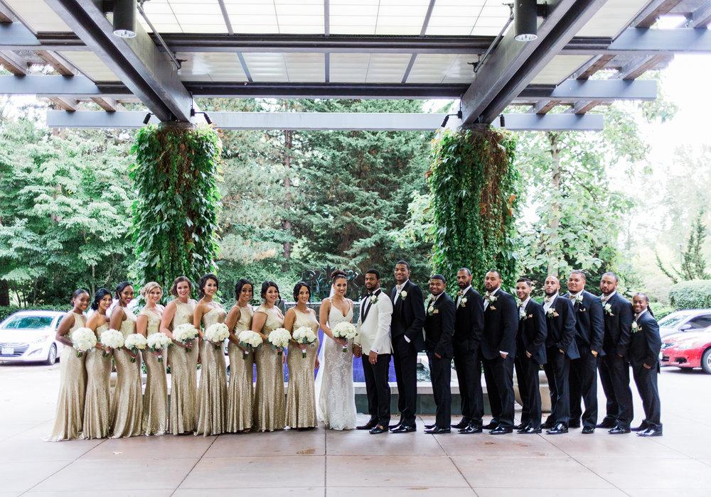 black tie bridal party bellevue club wedding seattle.jpg