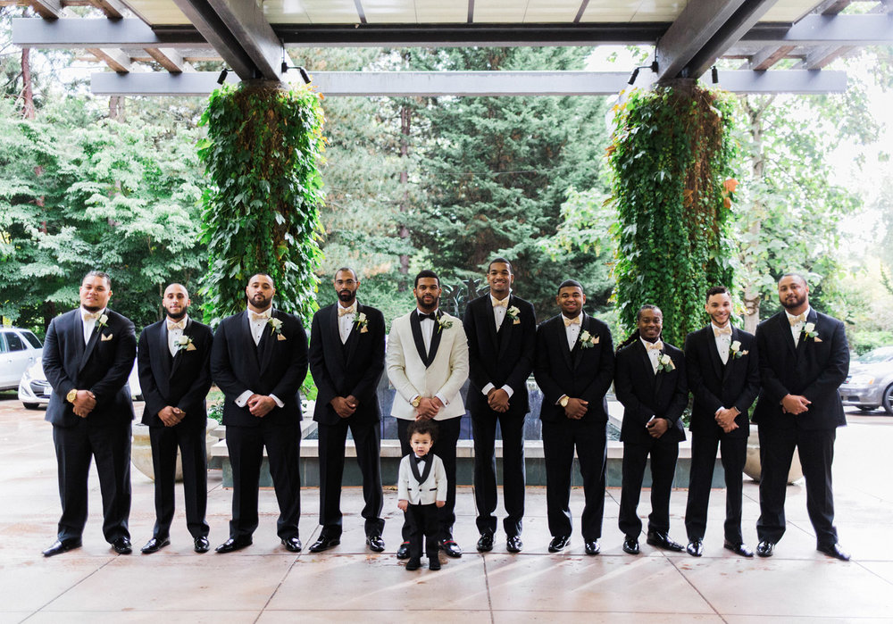 black tie groomsmen bridal party seattle bride.jpg