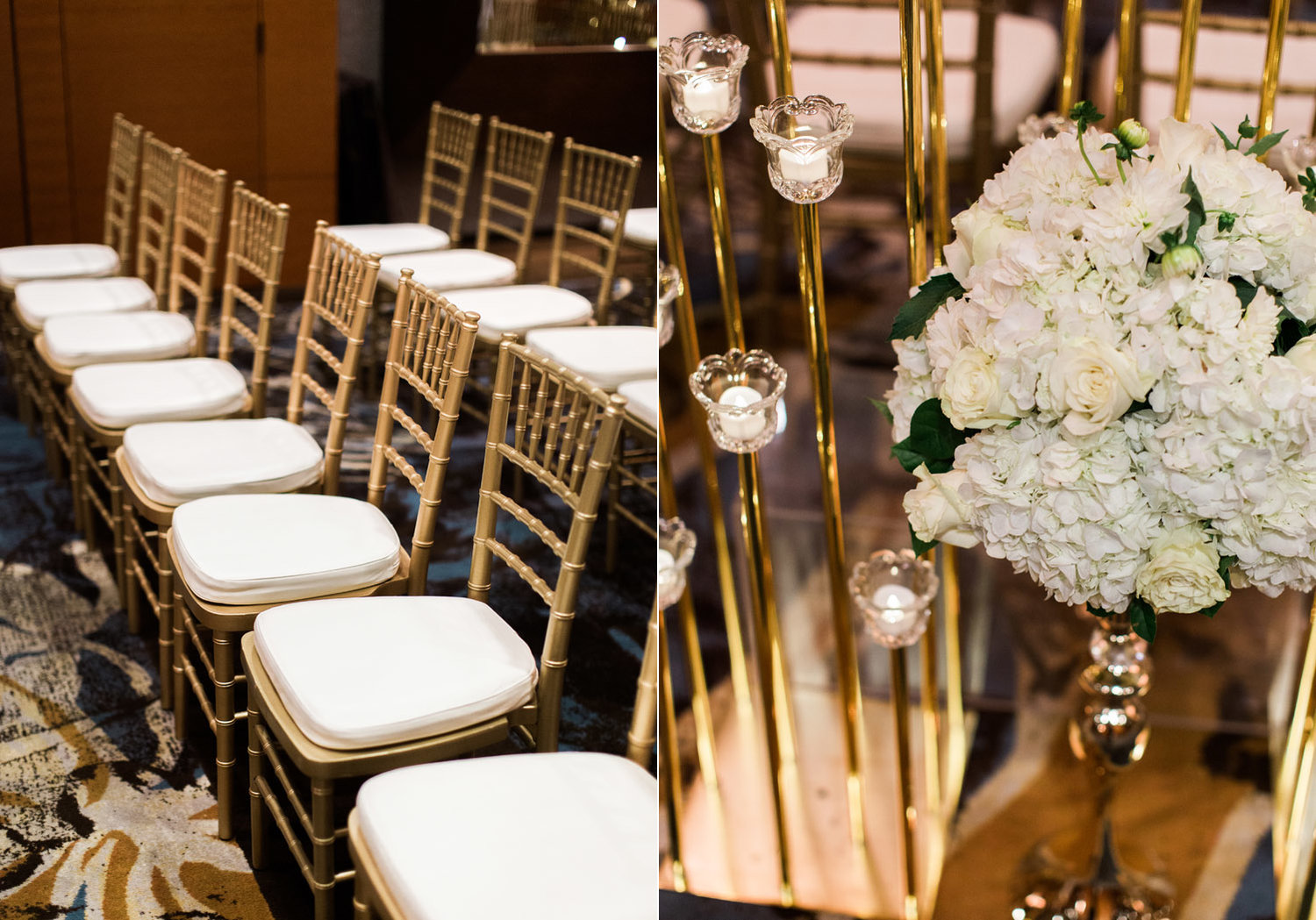 Taylor Jajuans Elegant Black Gold Wedding At The Bellevue Club