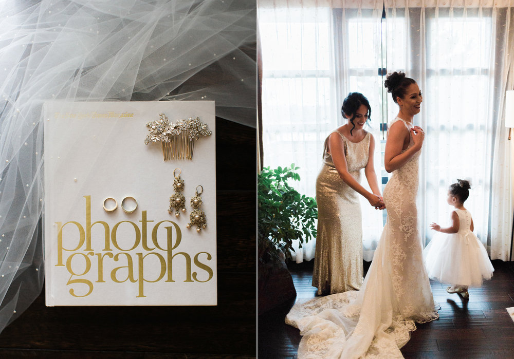 The Bellevue Club Wedding Photography Bridal Suite