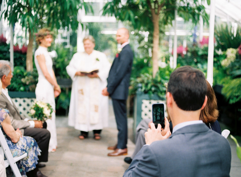 volunteer park seattle conservatory wedding ceremony.jpg