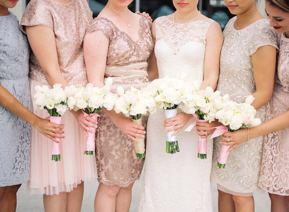 seattle bridal party pastel bridesmaid dresses wedding photography.jpg