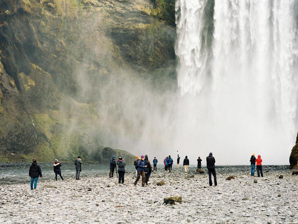 iceland skogafoss tourists kodak film photography.jpg