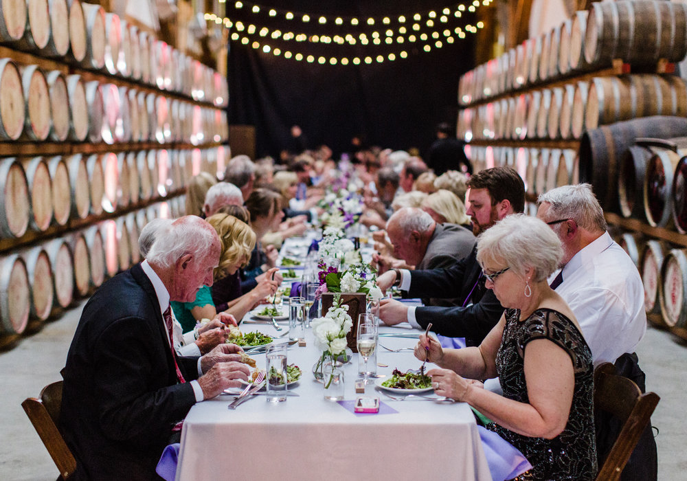 Westland Distillery Wedding Reception Farm Table.jpg