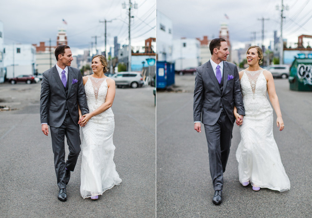 seattle sodo purple wedding bride and groom.jpg