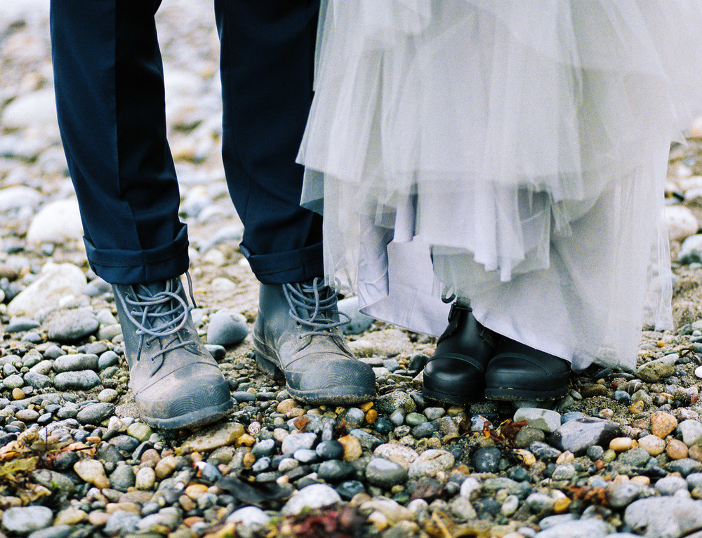 Hunter Boots at a coastal engagement session.jpg