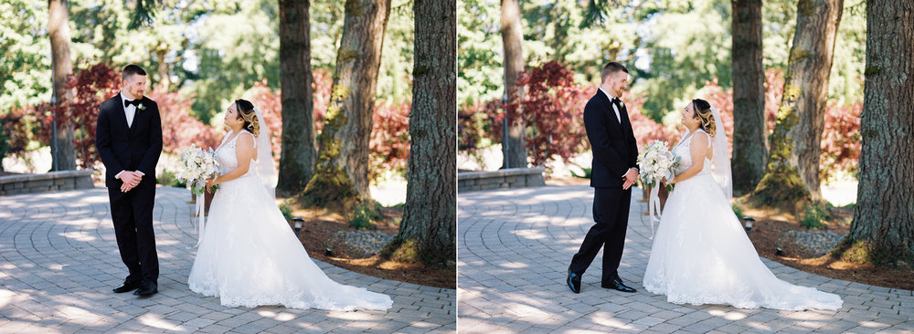 first look at the empress estates parkland washington wedding.jpg