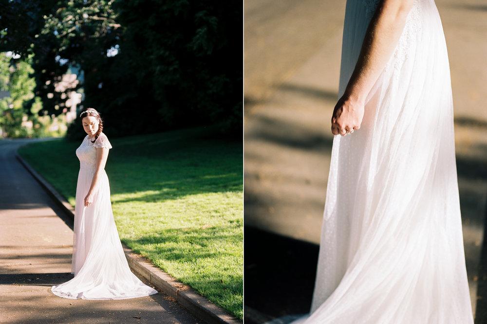 Summertime Ballard Locks Seattle Wedding Bridal Portrait Photography