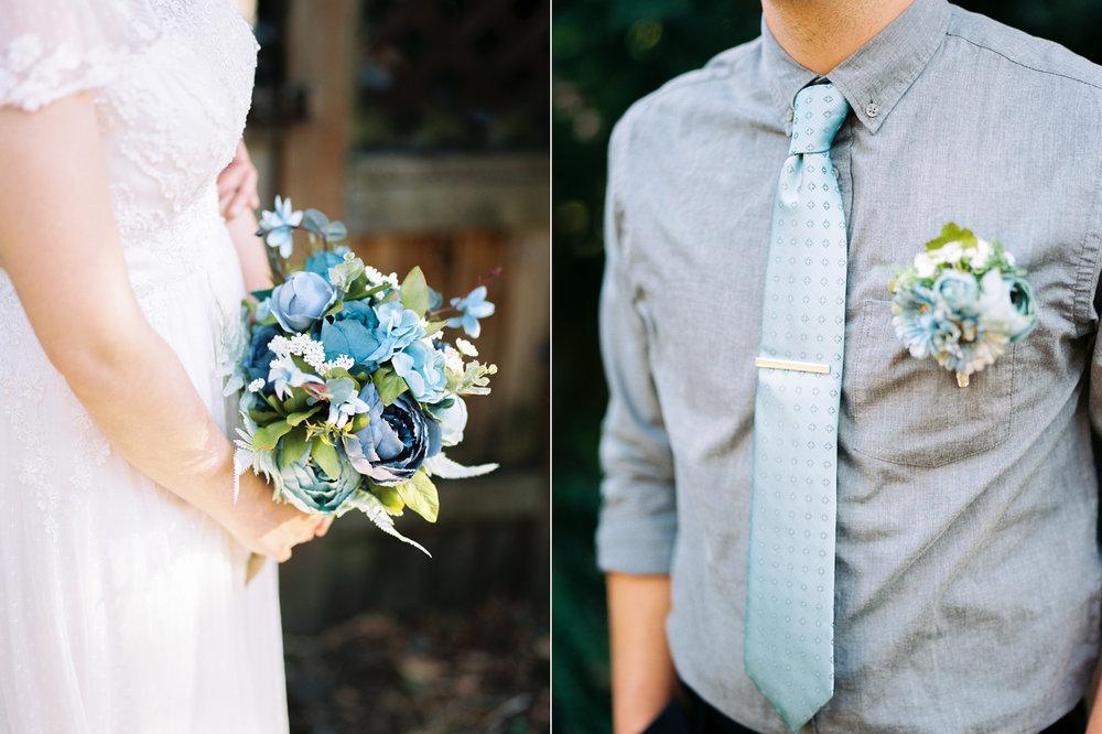 Intimate Backyard Ballard Wedding Details Photography