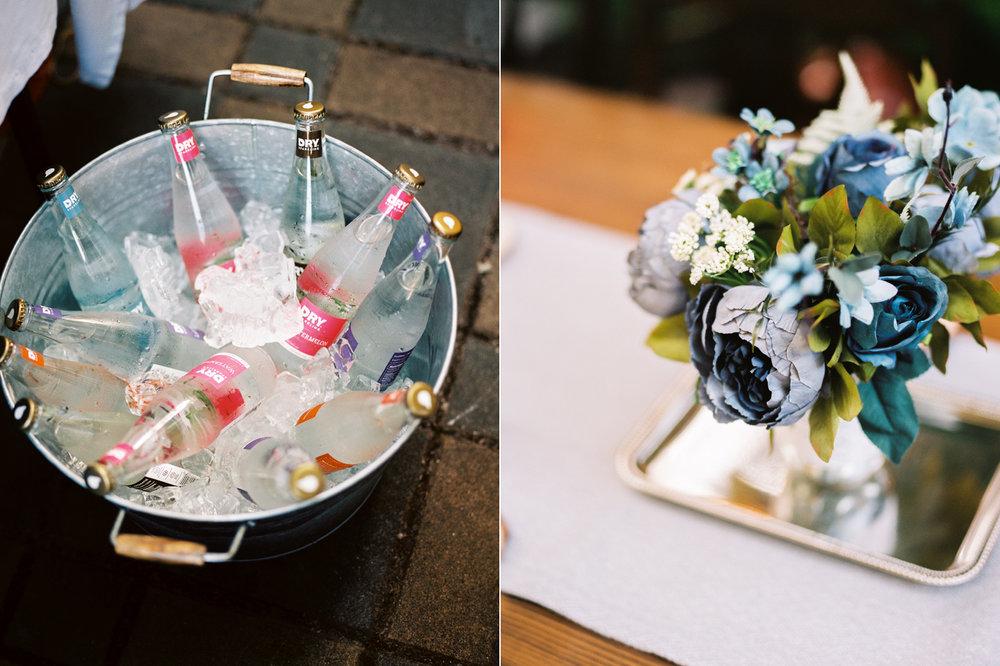 Intimate Backyard Ballard Wedding DIY Details Photography