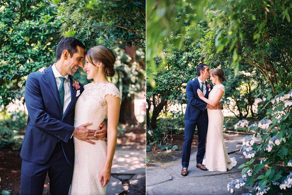 Seattle Parsons Garden Wedding Couple Portrait Photography.jpg