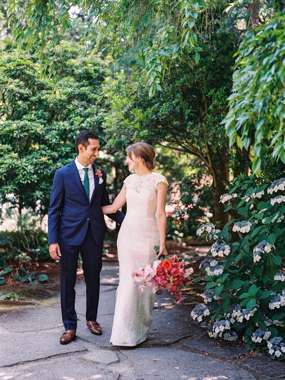 Seattle Parsons Garden Queen Anne Bride and Groom Portraits.jpg