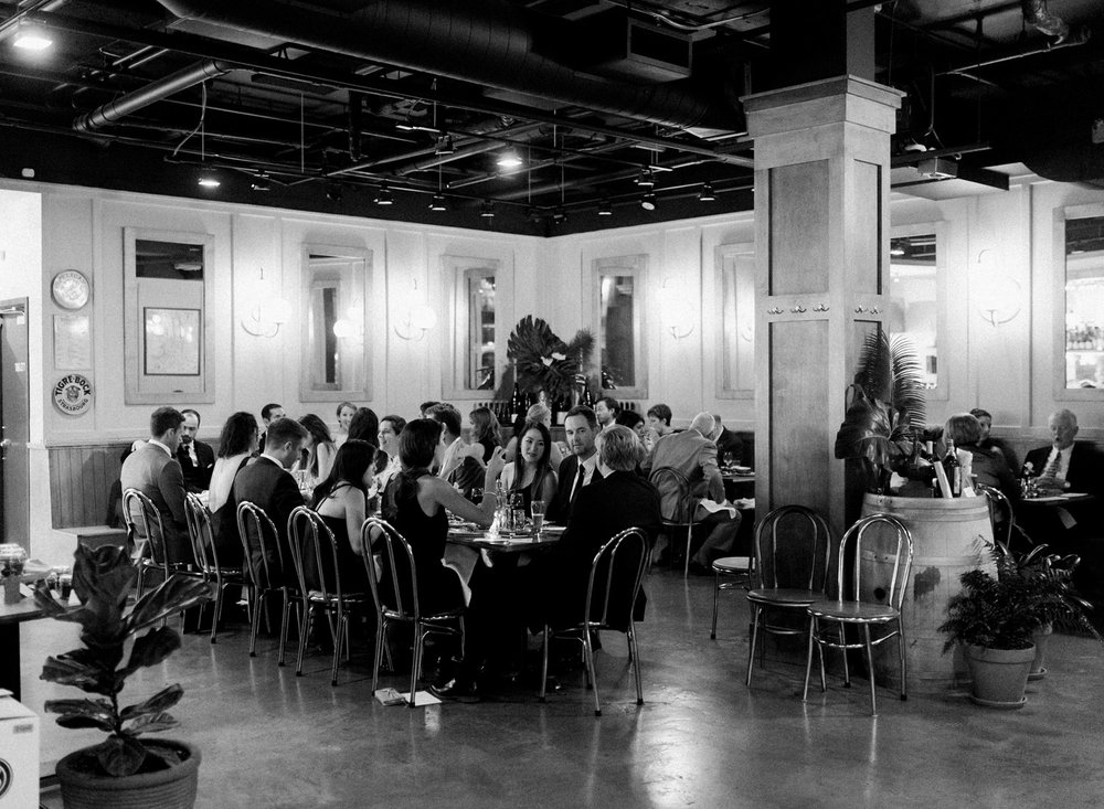 Seattle Wedding Photography L'oursin Restaurant Reception.jpg