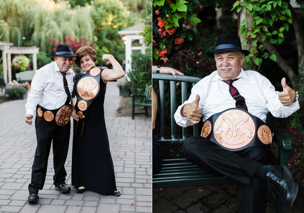 Seattle Wedding Photography WWE Wrestling Belt Portraits.jpg