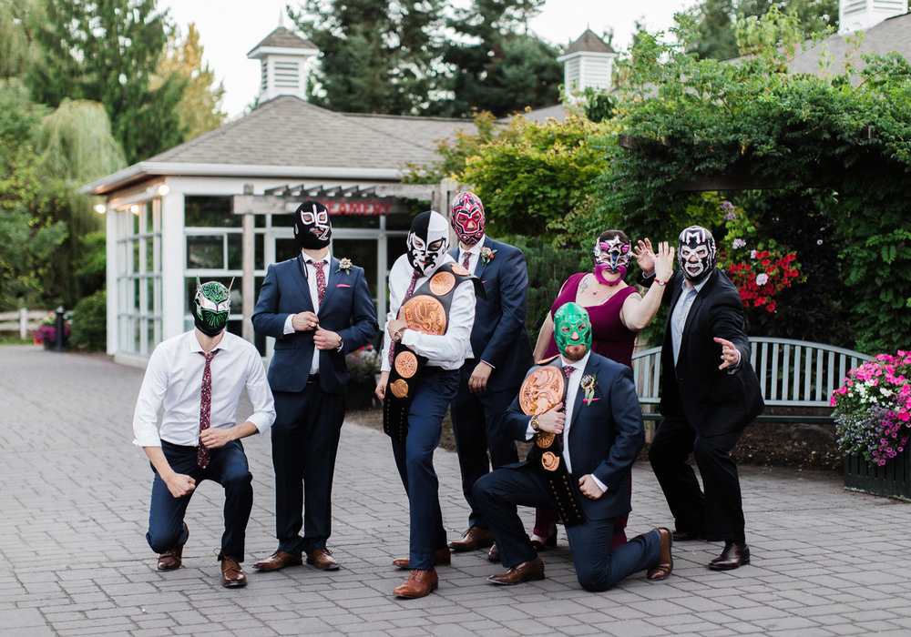 Seattle Wedding Portraits WWE Wrestling Bridal Party Inspiration.jpg