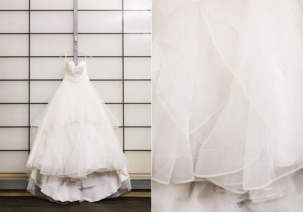 Seattle Wedding Photography Ballgown Wedding Dress at the Pickering Barn.jpg