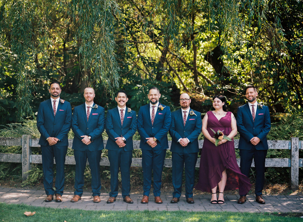 Pickering Barn Bridal Party Burgundy and Navy Wedding Photography.jpg