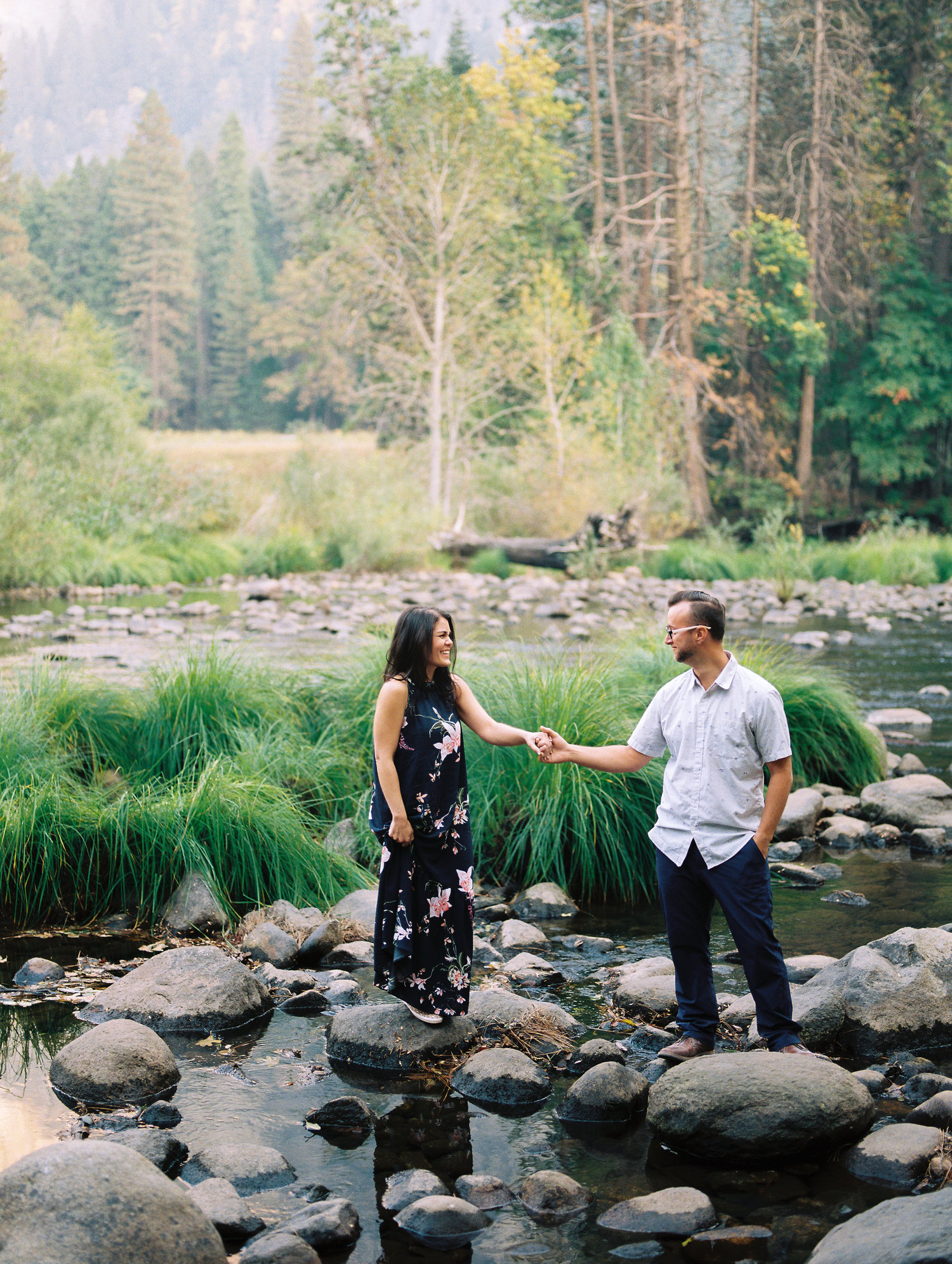 19870f02745 Yosemite National Park Engagement Portraits with Brittany  amp  Ryan