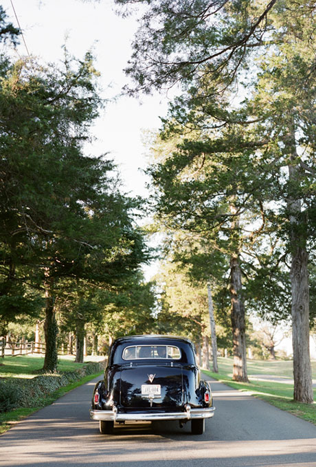 Wedding Get Away Car Ideas, 1948 Fleetwood Cadillac Limousine, Charlottesville Wedding