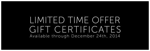 Gift Certificates Charlottesville Transportation