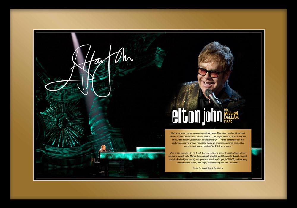 Elton John JPJ Cville Concert Limo