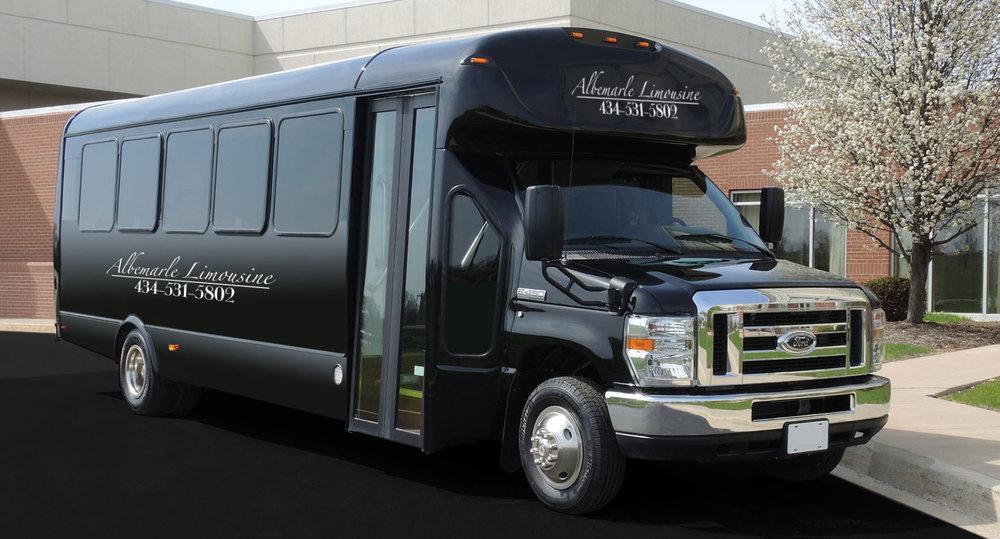 24 Passenger Wedding Guest Bus