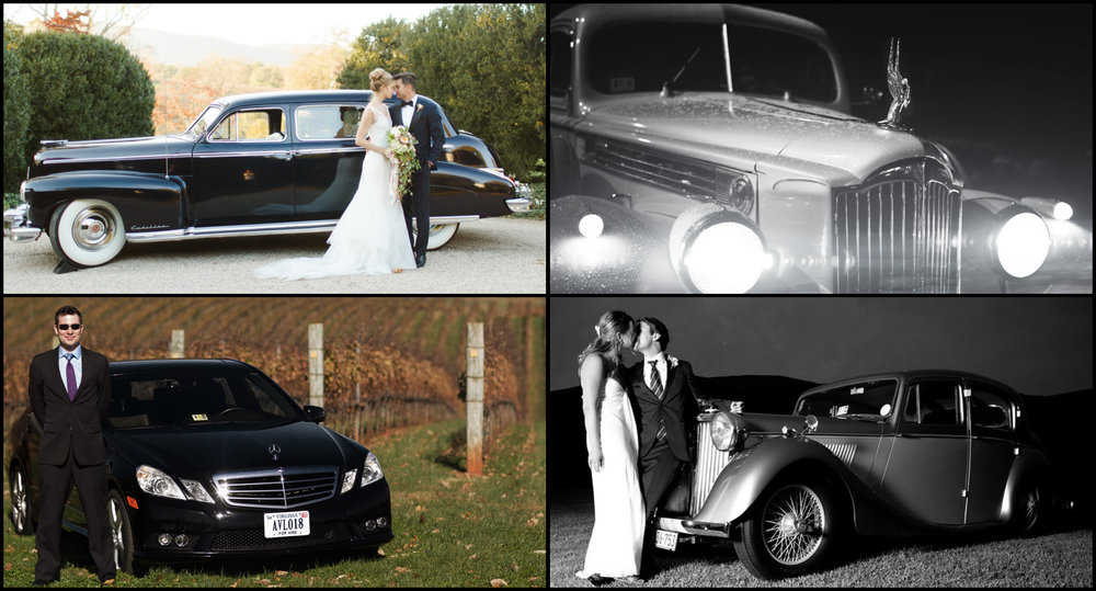 Bride and Groome Get-Away Cars