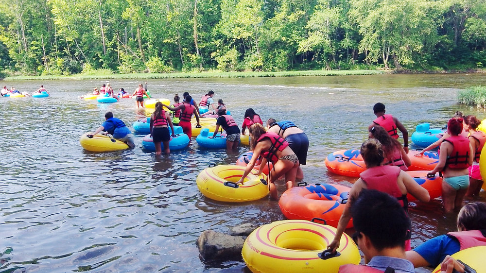 James River Tubing - Roughly 10:30 AM - 1:30 PM