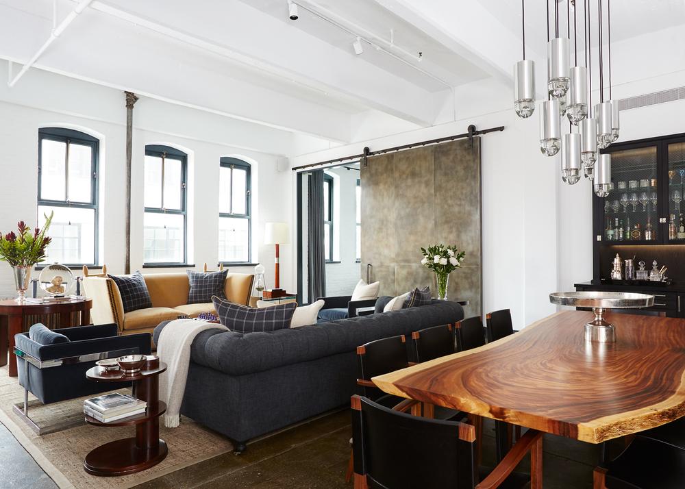 chelsea nycgentlemans loft - Chelsea Interior Designers