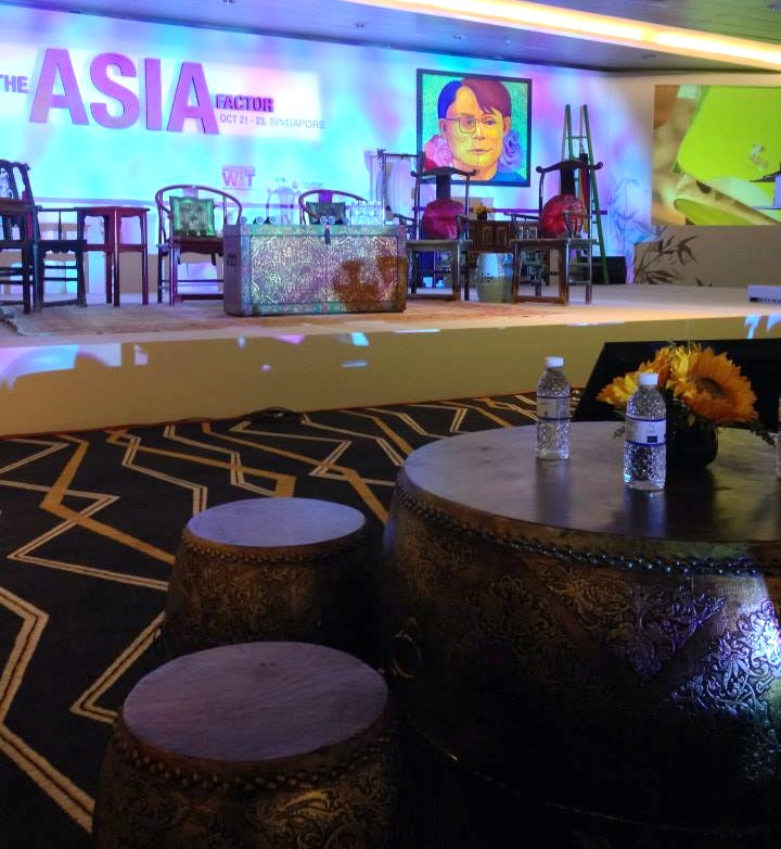 Some of our pieces at The Asia Factor, a WIT Conference in 2013.